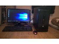 HP Pro desk quad core computer
