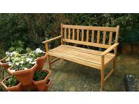 2-3 Seater Wooden Garden Bench £45.00