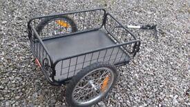 Mission Cargo Bike trailer, cage type