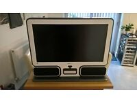 "32"" Hannspree LCD TV / Large monitor with stereo speakers in a Contemporary Style"