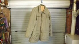 FOSTER SHOWER PROOF LINED JACKET SIZE MEDIUM