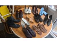 LARGE BUNDLE OF WOMENS SHOES FOR SALE ALL SIZE 7 11PRS SHOES & 1 PR BOOTS ALL IN PICS