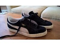 Puma Suede UK 9 Excellent condition