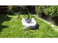 Waveco inflatable dinghy 2.3mtr with 2.5 mercury outboard £520 o n o