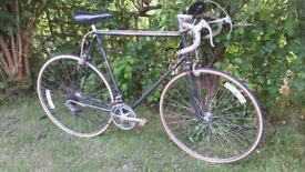 peugeot 1980,s racing bike,new tyres,24 in frame,tidy bike,runs very well