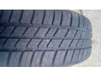 Tyre 175 x65x14. On ford rim