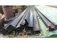 Black Guttering in Good Condition