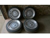 new bbs rs rep alloys vw (bmw honda ford mazda)