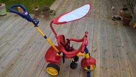 Toddler trike with sunshade. Little Tikes 3 in 1. great condition.