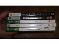 5 X XBOX 360 GAMES THAT CAN BE PLAYED ON XBOX ONE