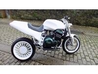 triumph daytona streetfighter one off unfinished project px swap poss
