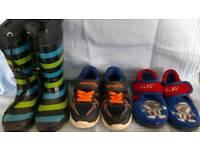 Boys footwear bundle. Size 5