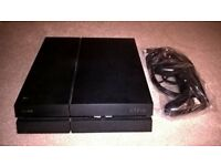 PlayStation 4, 500GB, original design, used, good condition