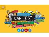 Car Fest North 2017 Weekend Camping Tickets x 2 for sale at Face Value