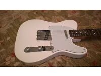 2002 Fender Telecaster '60s reissue. Excellent condition, with Fender Deluxe Gigbag