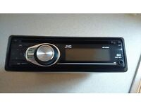 NEARLY NEW JVC CAR STEREO