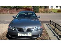 NISSAN ALMERA 1.5 SVE, 54 PLATE. ( looking to swap for smaller car. )