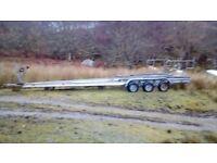 Boat trailer. 34 ft length
