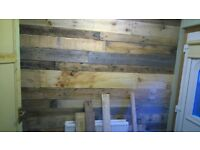 Pallet Wall Reclaimed Pallet Wood Planks