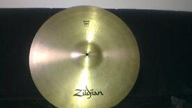 """Zildjian Avedis (91-93) 21"""" rock ride cymbal"""