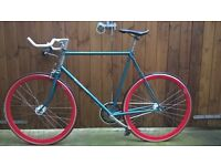 fixied gear, single speed, Raleigh fixie