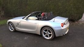 superb low mileage bmw-z4 2.5.i new mot with no advisories,5 speed manual,absolutely no fault,s