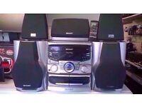 SHARP CD-PC651 MIDI COMPONENT SYSTEM
