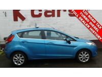 £20 A YEAR ROAD TAX DIESEL FORD FIESTA 1.4 TDCI ZETEC FULL DEALER HISTORY