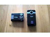 Vivitar digital camcorder and camera set