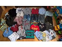 Designer boy bundle clothes 2-3 years (34 items): Ted Baker, Tommy Hilfinger, Timberland, GAP, Zara