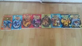 Beast quest books 1,5,6,9,19,38,67 for sale