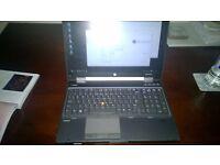 Laptop Workstation i7 HP Nvidia SSD 16gb ram