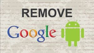 Remove google account and unlocked network also