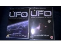 UFO 1970s Gerry Anderson series 1 to 8 2 x DVDs