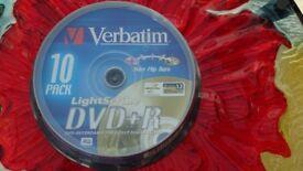 Verbatim Lightscribe DVD-R Unused