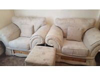Luxurious Sofa Suite in Unmarked Condition *** PRICED REDUCED ***