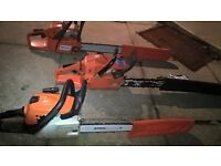 Job lot 3 professional chainsaws = 1 Stihl +2 Husqvarna all run perfect and ready for work in vgwo.