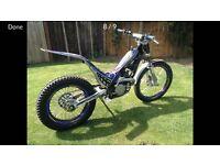 Sherco 290 trials bike 2006