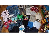 Baby boy bundle clothes 12-18 months (42 items): Next, Junior J, H&M, M&S,George, Baby K,M&Co