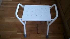 disability shower stool with handles