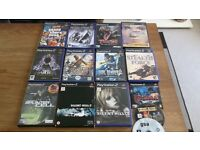 PS2 SLIM FOR SALE WITH 14 GREAT GAMES INCL SILENT HILL ETC