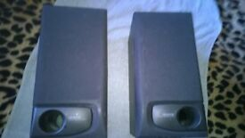 Speakers Hi Fi Kenwood Great Sound