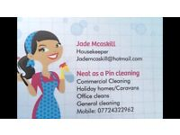 Neat as a pin cleaning services