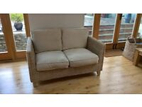 Marks & Spencer (M&S) Rattan Wicker Conservatory Sofa