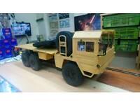 1/12 6x6 man army truck