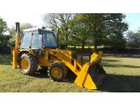 JCB 3CX Digger, Backhoe Loader, Excavator, No VAT