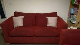 2 x matching sofas for sale