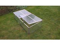glass and aluminium cold frame for sale