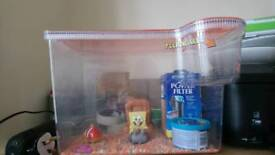 Spongebob Square pants starter fish tank
