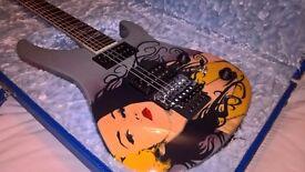 Jackson GJ2 Grover Jackson Arete Handmade One Off NAMM show guitar